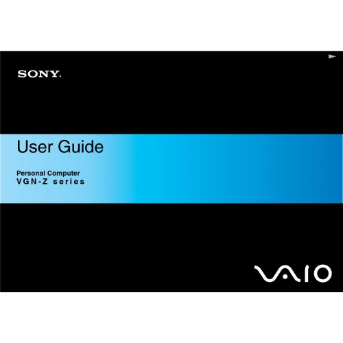 sony vaio vgn z11mrn laptop user guide manual technical details rh laptop manual com Sony Vaio Laptop Computer Sony Vaio 2 in 1