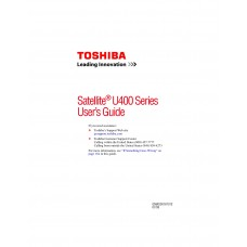 Toshiba SATELLITE U405-S2856 Laptop